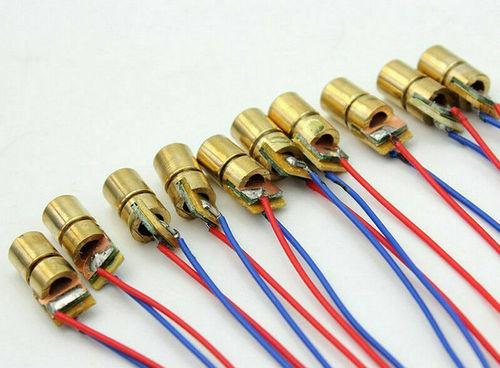 Laser Emitter module: 650nm, 5mW, 5V.