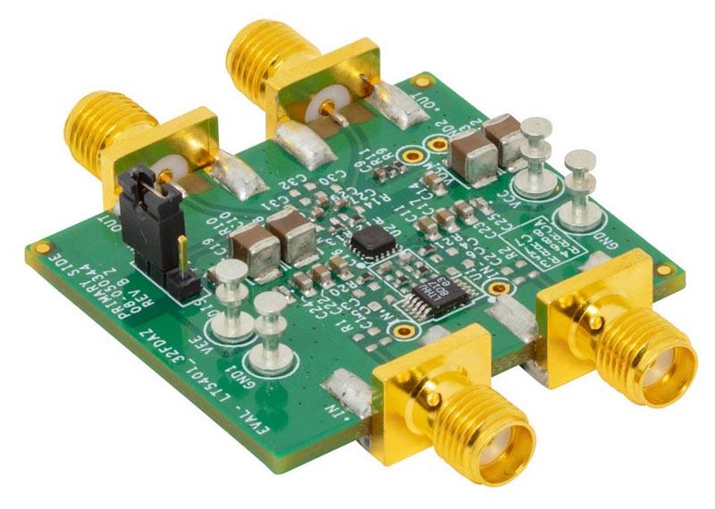Оценочная плата для резисторной сборки LT5401