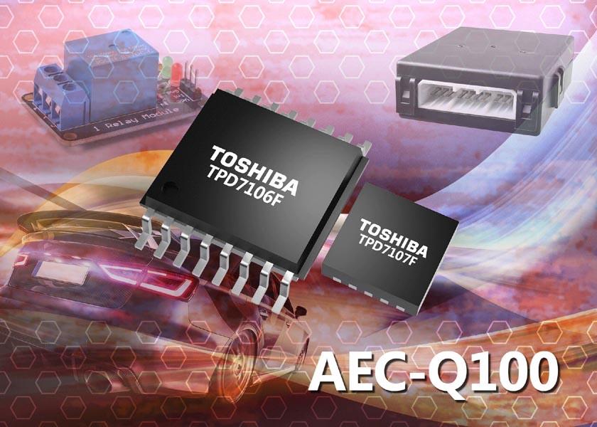 Toshiba выпускает новые интеллектуальные драйверы затворов MOSFET