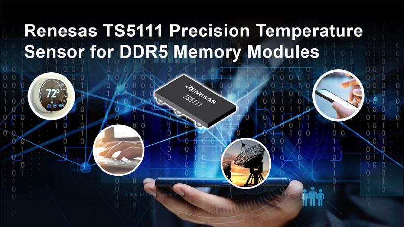 Renesas представляет датчик температуры для модулей