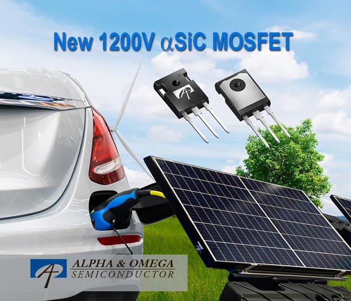 Alpha and Omega Semiconductor начинает выпуск 1200-вольтовых MOSFET на новой технологической платформе αSiC
