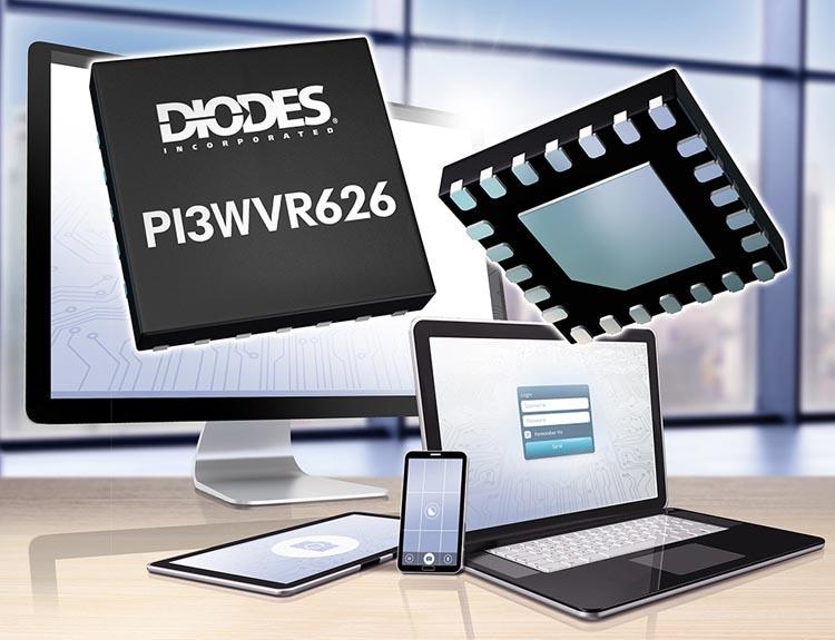 Коммутатор интерфейса MIPI компании Diodes упростит конструкцию многокамерных смартфонов
