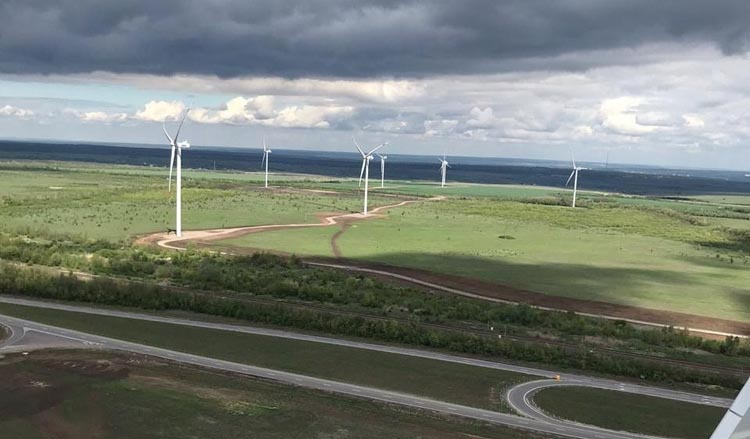 В Ростовской области началась промышленная эксплуатация третьей ветроэлектростанции Фонда развития ветроэнергетики