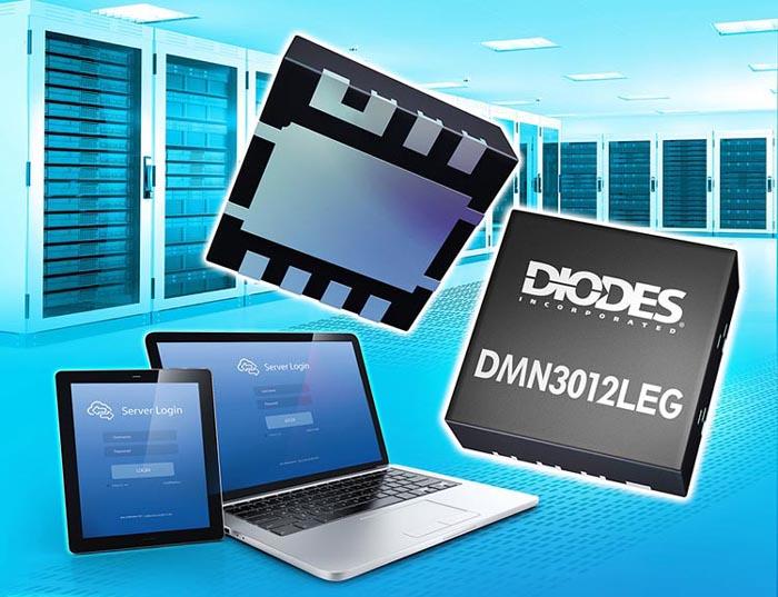 Diodes предлагает новую сборку мощных MOSFET для приложений преобразования энергии