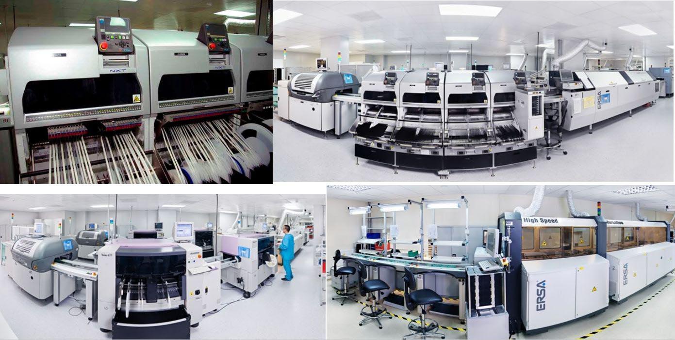 Заводские помещения «Альтоники» с оборудованием, поставленным Предприятием ОСТЕК.