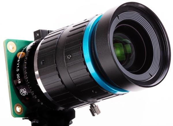 Камера Raspberry Pi на основе 12.3-мегапиксельного датчика изображения IMX477 компании Sony