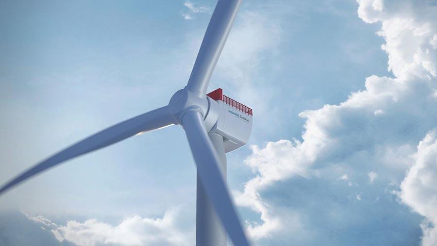 Siemens Gamesa выпускает 14-мегаваттную ветряную турбину с диаметром ротора 222метра