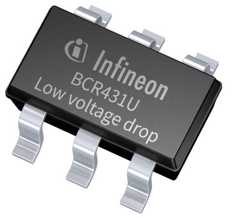 Datasheet Infineon BCR431U