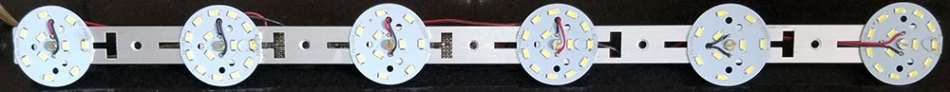 This is the LED array for a 20 W day lamp.