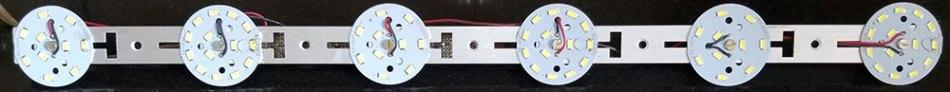 Матрица светодиодов для 20-ваттной дневной лампы.