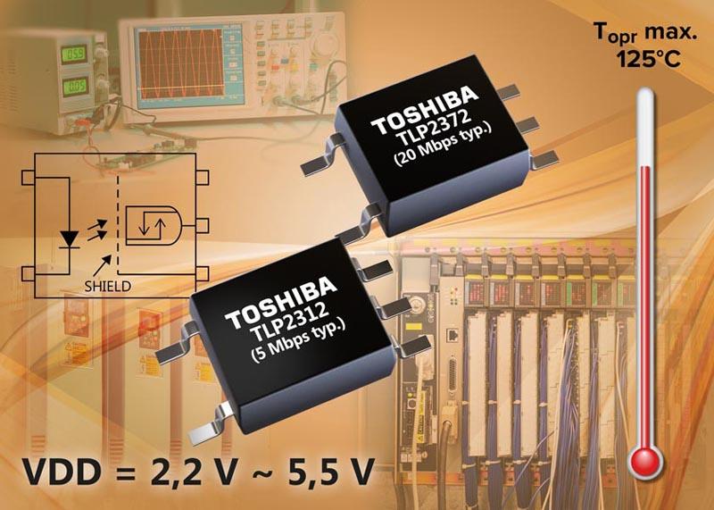 Toshiba - TLP2312, TLP2372