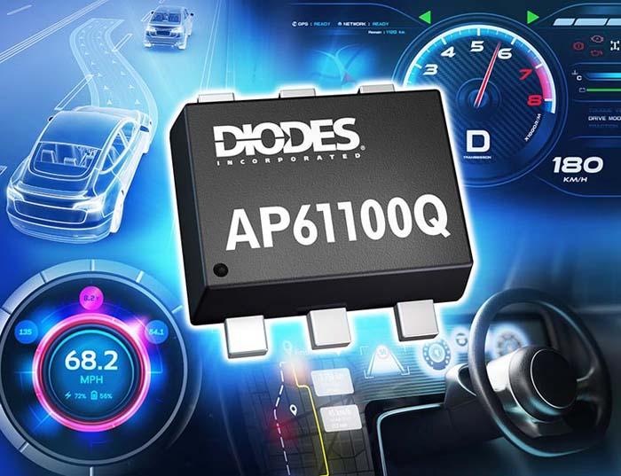 Diodes анонсирует автомобильный синхронный понижающий преобразователь