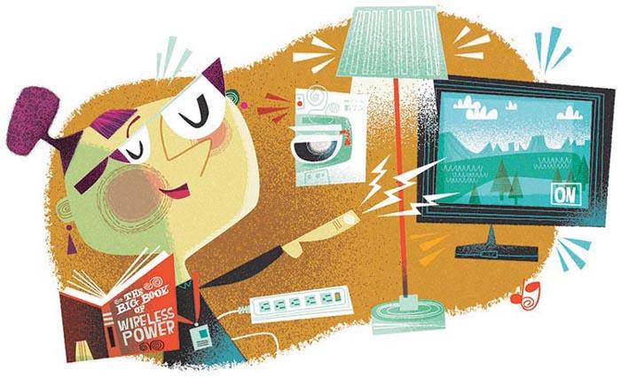 Enablement Batteryless Applications Wireless Power