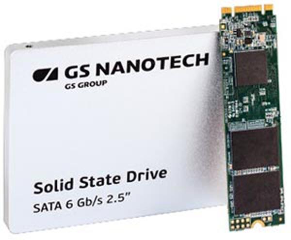 SSD производства GS Nanotech подтвердили российское происхождение