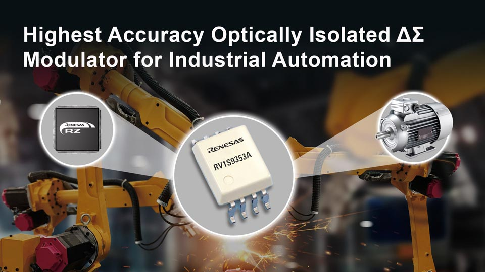 Renesas Unveils Industry Highest Accuracy Optically