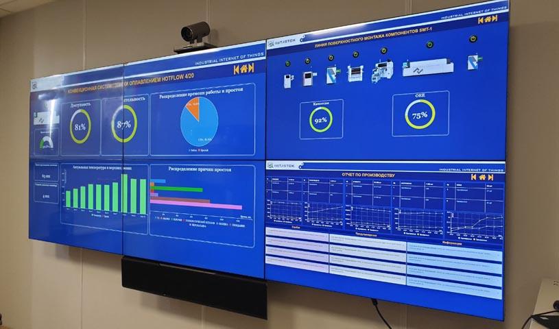 «Росэлектроника» разработала систему промышленного интернета вещей для контроля производственных процессов