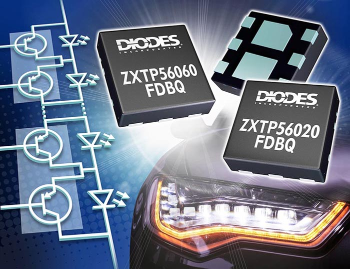 Diodes Incorporated Optimizes PNP Transistors Automotive