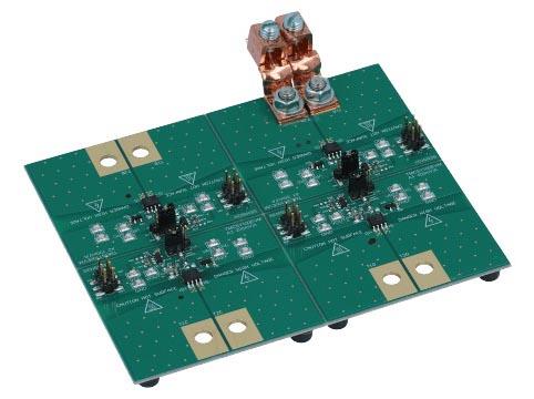 Оценочная плата изолированного датчика тока на основе TMCS1100