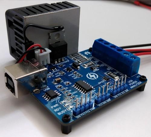 Power Analyzer - устройство для автоматического анализа источников питания, DC-DC преобразователей, аккумуляторов.