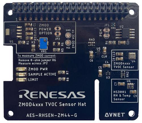 Avnet представила плату расширения Raspberry Pi для мониторинга качества воздуха в помещениях