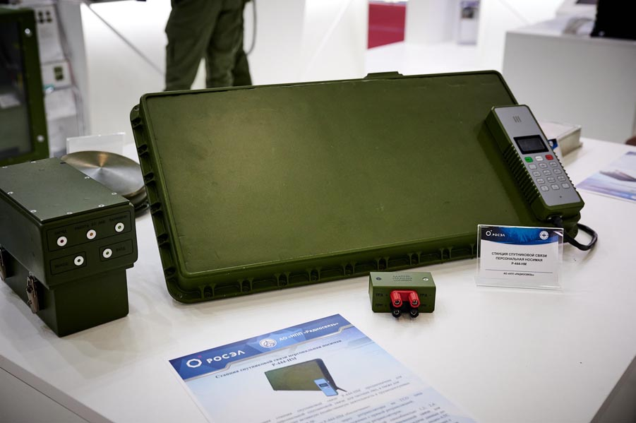 «Росэлектроника» показала самую компактную мобильную станцию спутниковой связи