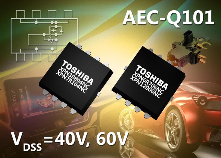 Toshiba Announces Compact Low ON-Resistance N-Channel