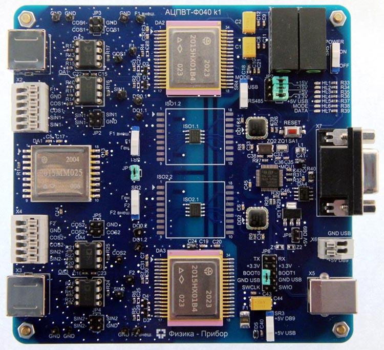 НПО «Физика» выпускает устройство стыковки СКВТ — USB&RS-485