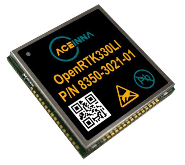 ACEINNA Launches OpenRTK330L Industry Smallest High-Precision