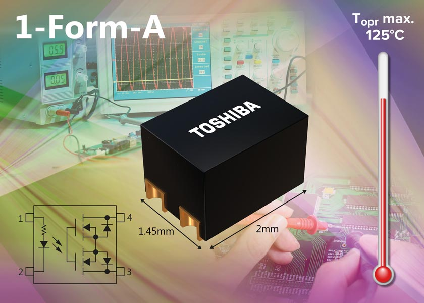 New Photorelays Toshiba Contribute Equipment Downsizing