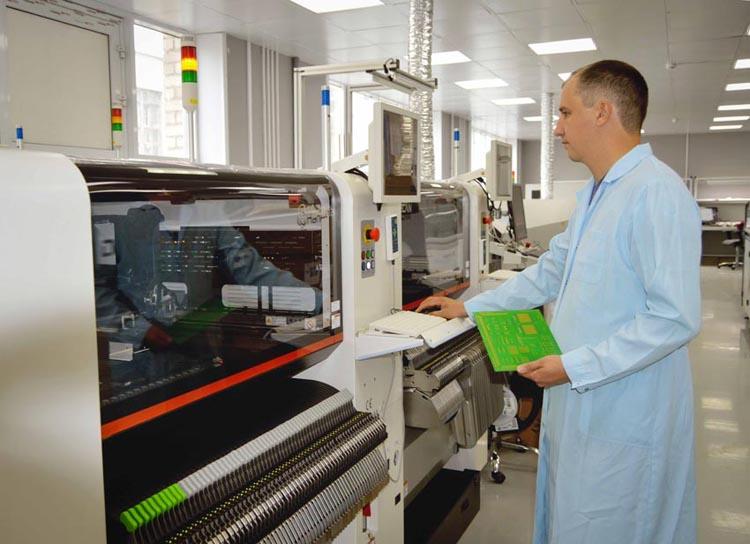 «Росэлектроника» запустила автоматизированное производство печатных плат для «умных» электросчетчиков