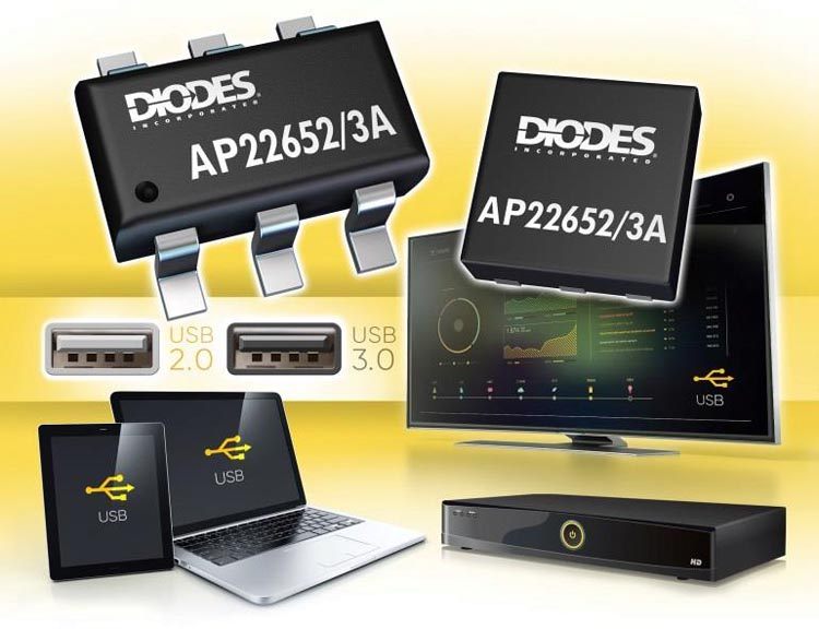 Diodes Announces Series Precision Adjustable Current-Limited