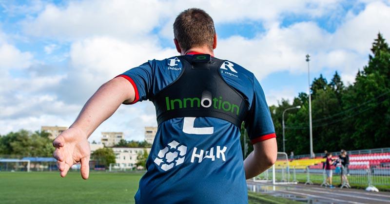 Трекеры InMotion успешно прошли тестирование во время футбольного матча