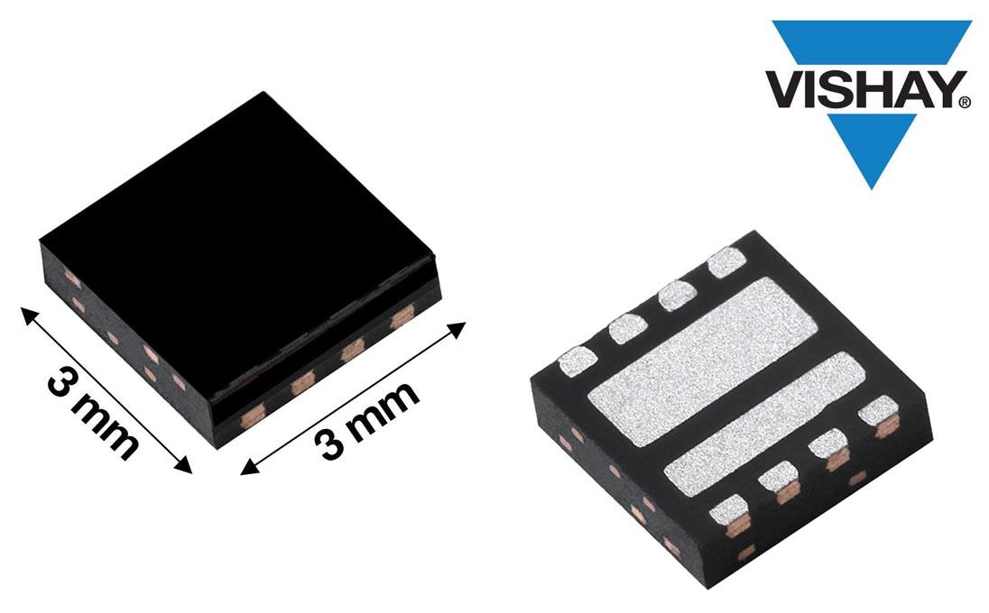 Vishay предлагает новый интегральный полумостовой силовой