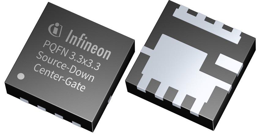 Infineon добавляет 40-вольтовый прибор к семейству MOSFET в корпусах SDPQFN