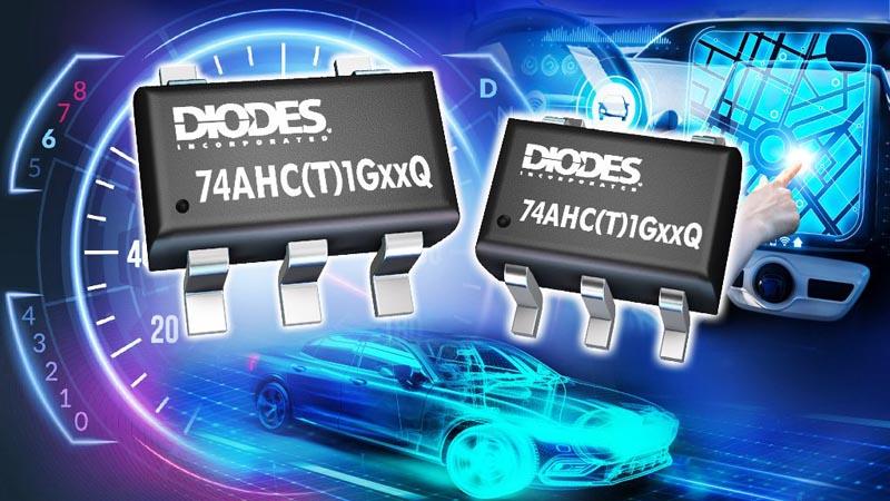 Diodes - 74AHC1GxxQ, 74AHCT1GxxQ