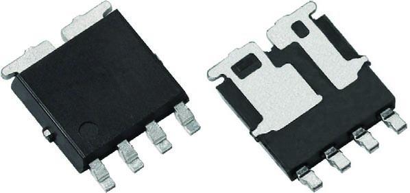 Vishay запускает в производство первый в отрасли 60-вольтовый MOSFET для автомобильных приложений в сдвоенном асимметричном корпусе PowerPAK SO-8L
