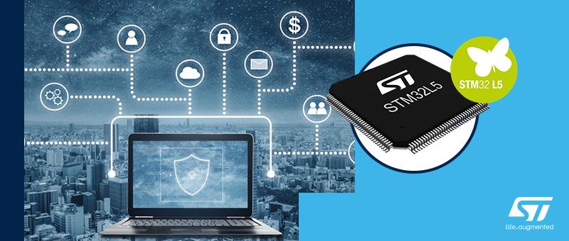 STM32L5 - новый виток развития малопотребляющих микроконтроллеров