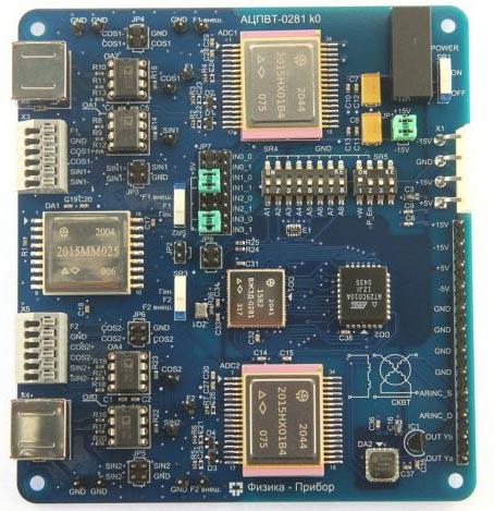 В НПО Физика выпущено устройство стыковки СКВТ - ARINC-429