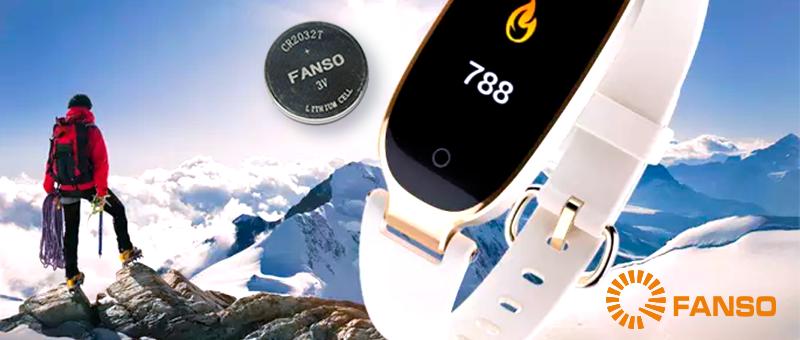Тестирование литиевых батареек Fanso при температуре -20°C