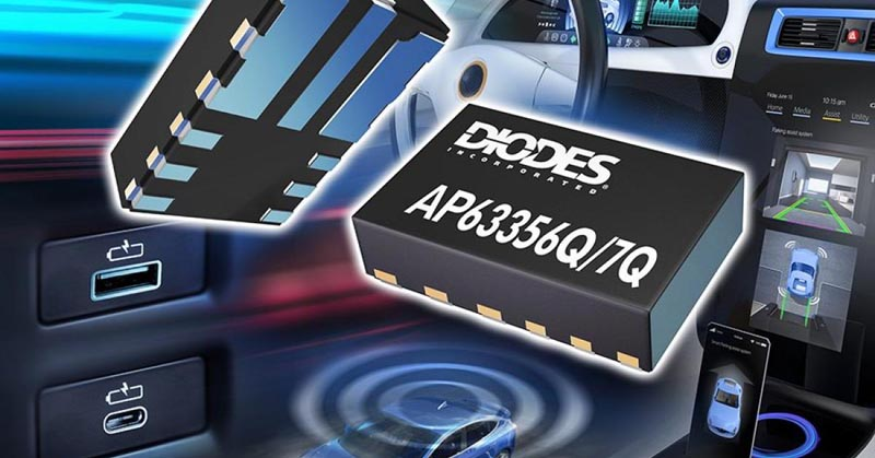 Automotive-Compliant Synchronous Buck Converters Diodes Incorporated