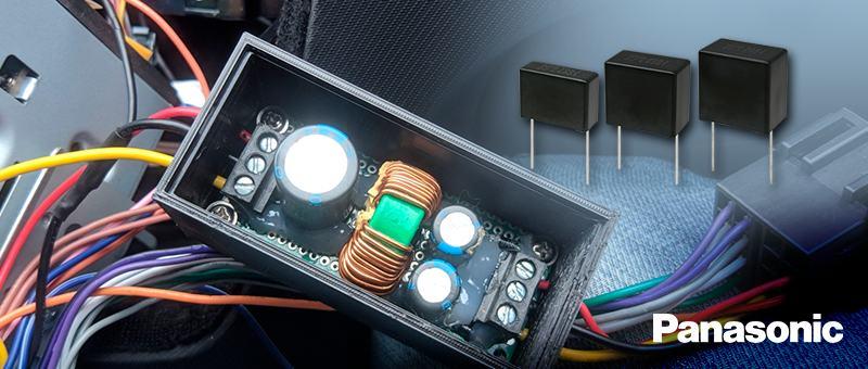 Пленочные конденсаторы ECQUA класса X2 рабочее