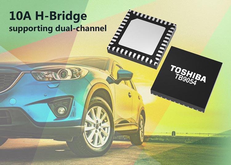 10A H-Bridge Motor Driver ICs Toshiba