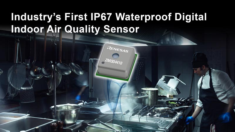 Renesas Expands ZMOD4410 Indoor Air Quality