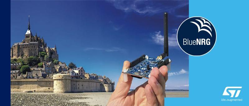Компания STMicroelectronics выпустила программируемый чип BlueNRG-LP