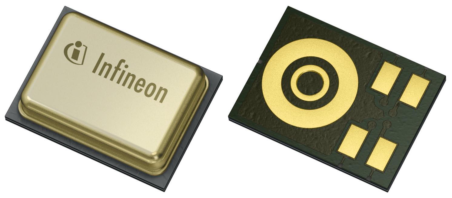 Infineon takes lead MEMS microphone market