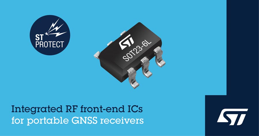 Integrated Impedance-Matching Protection IC STMicroelectronics Simplifies