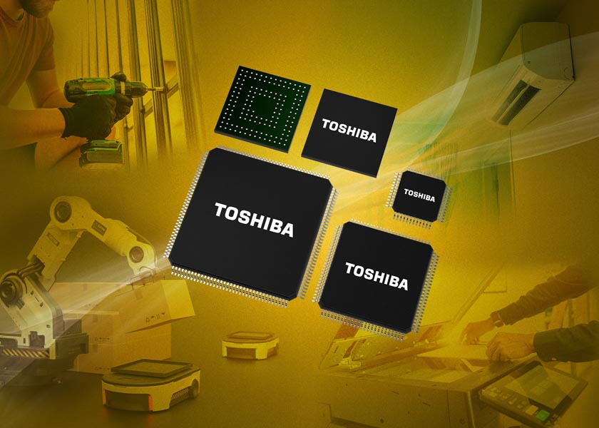 Toshiba Expands Portfolio Low-Power Performance-Enhanced 32-Bit