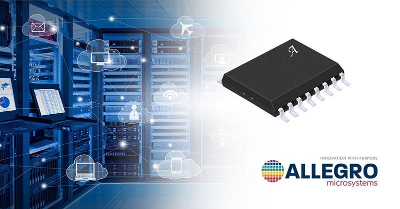 В новой изолированной микросхеме Allegro объединила функции контроля мощности, напряжения и тока