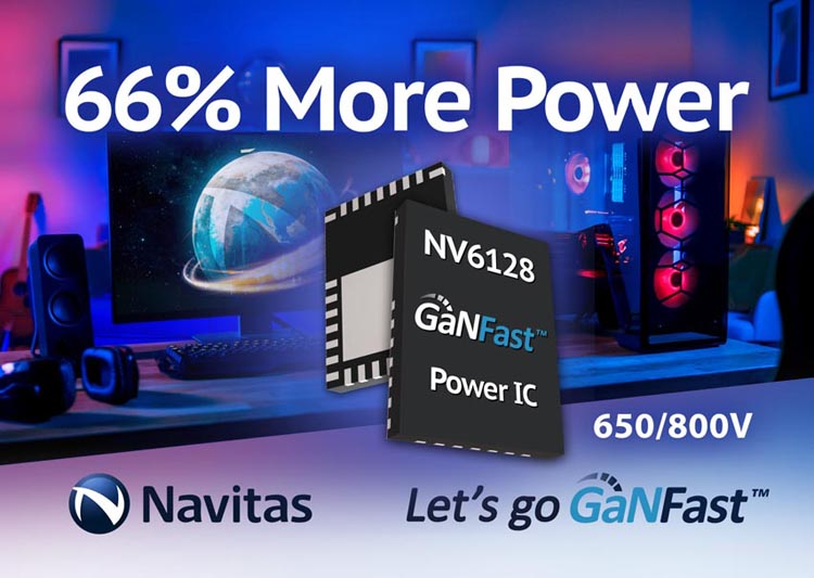 Navitas Cranks Up Power Gallium Nitride