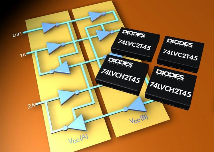 Diodes Announced New 2-Bit Bidirectional Logic